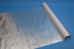 Jutafol N AL 170 /75m2/-Fólie je určena pro vytvoření vysoceparotěsné vrstvy na vnitřní straně tepelných izolací. Parotěsná vrstva výrazně přispívá k dlouhodobé a správné funkci tepelných izolací.