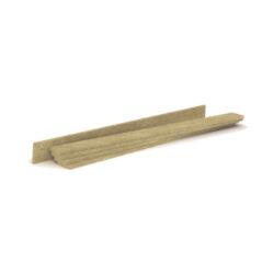 ROCKWOOL Steprock RST okrajový pásek š.120 mm (24 ks)-Pásek z kamenné vlny, který minimalizuje akustické mosty mezi podlahou a stěnou.