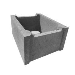 Ztracené bednění DITON 40-Betonová tvárnice pro výstavbu svislých nosných i nenosných konstrukcí zdiva, základů, opěrných zdí.