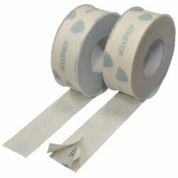 ISOCELL AIRSTOP FLEX 50mm/25bm-Lehce roztažitelná lepicí páska ISOCELL AIRSTOP FELX určená k trvalému vzduchotěsnému lepení je mítatelná a přetíratelná. Díky rozděleným krycím pruhům ze zadní strany je tato páska vhodná k lepení rohů, přesahů a při zabudování oken.